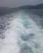 ゆらりゆられ海の道